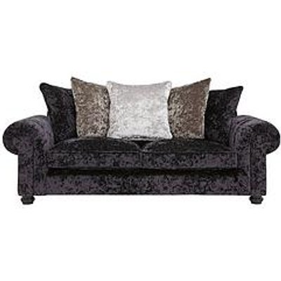 Laurence Llewelyn-Bowen Scarpa 3 Seater Fabric Scatter Back Sofa