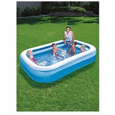 Bestway Blue Rectangular Family Pool