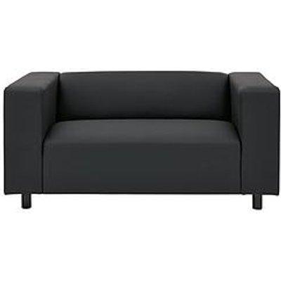 Clarke Faux Leather 2 Seater Sofa