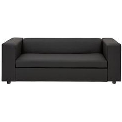 Clarke Faux Leather Sofa Bed