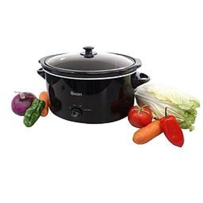 Swan Sf11041 5.5-Litre Slow Cooker - Black