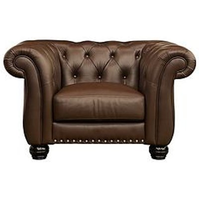 Bakerfield Leather Armchair