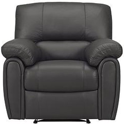 Violino Leighton Leather/Faux Leather Power Recliner Armchair
