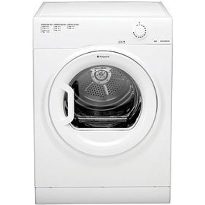Hotpoint Aquarius Tvfm70Bgp 7Kg Load Vented Tumble Dryer - White