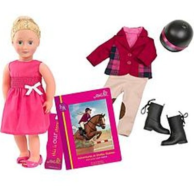 Our Generation Lily Anna Doll With Book