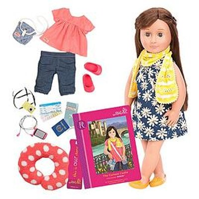 Our Generation Reese Doll With Book