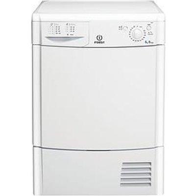 Indesit Ecotime Idc8T3B 8Kg Load Condenser Tumble Dryer - White