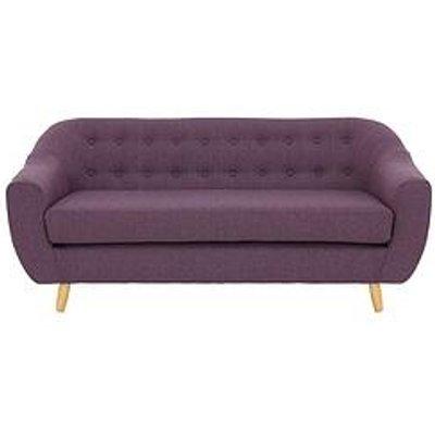 Claudia 3 Seater Fabric Sofa