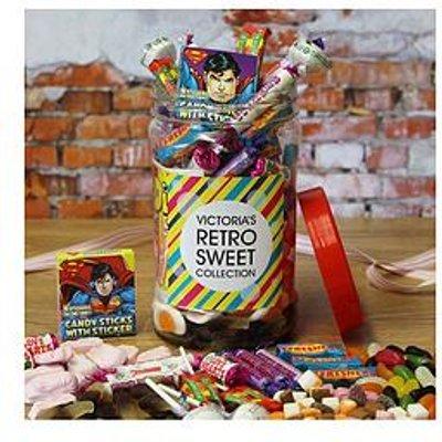 Personalised Retro Sweet Jar - Medium