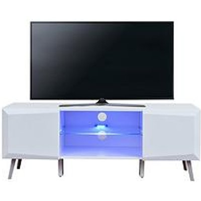 Xander Tv Stand With Led Lights - Fits Up To 55 Inch Tv