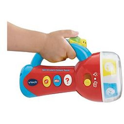 Vtech Spin &Amp; Learn Colours Torch