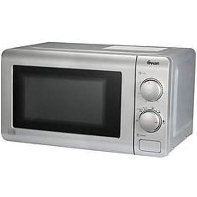 Swan Sm22090S Essential 20-Litre Microwave - Silver