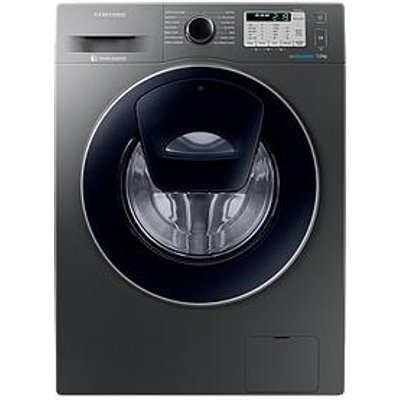 Samsung Ww70K5413Ux/Eu 7Kg Load, 1400 Spin Addwash&Trade; Washing Machine With Ecobubble&Trade; Technology - Graphite