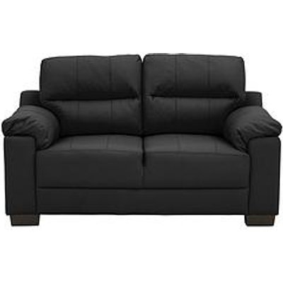 Saskia Leather/Faux Leather 2 Seater Compact Sofa