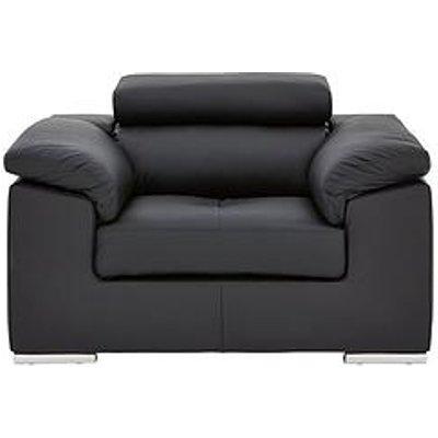 Brady 100% Premium Leather Armchair