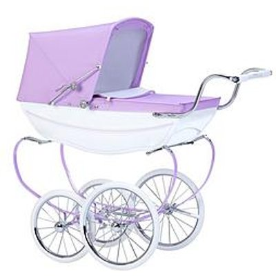 Silver Cross Oberon Sparkle Purple Dolls Pram