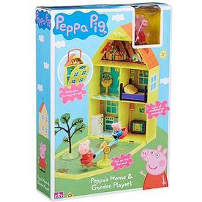 Peppa Pig Peppa'S House &Amp; Garden Playset