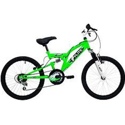 Flite Turbo Full Suspension Boys Bike 20 Inch Wheel