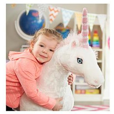 Melissa & Doug Plush Unicorn - 92Cm