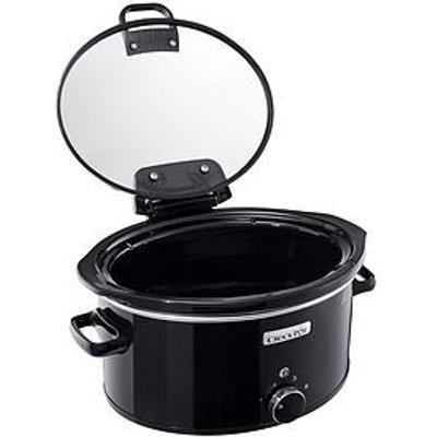 Crock-Pot 5.70-Litre Hinged Lid Slow Cooker
