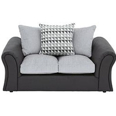 Linear 2-Seater Scatterback Compact Sofa