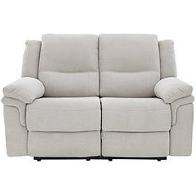Albion Fabric 2 Seater Manual Recliner Sofa