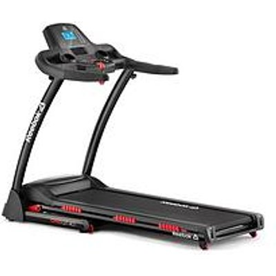Reebok Gt40S One Series Treadmill - Black With Red Trim