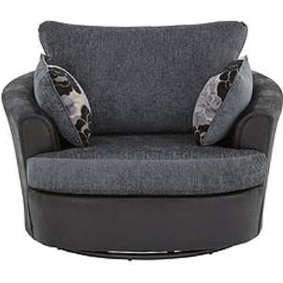 Monico Fabric Swivel Chair