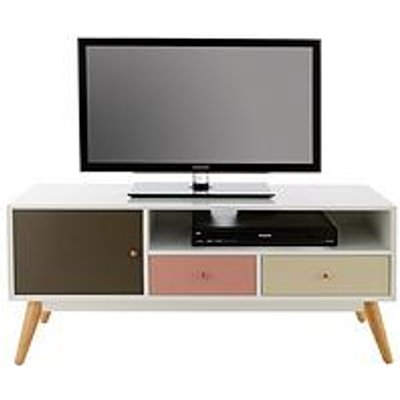 Orla Blush Tv Unit - Fits Up To 50 Inch Tv
