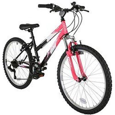 Flite Ravine Front Suspension Girls Bike 24 Inch Wheel