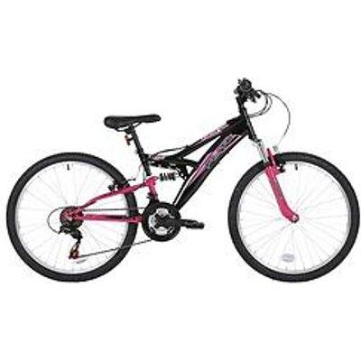 "Flite Taser Dual Suspension 24"" Girls Bike"