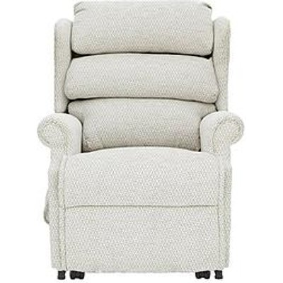 Hampton Power Lift &Amp; Tilt Fabric Recliner Armchair