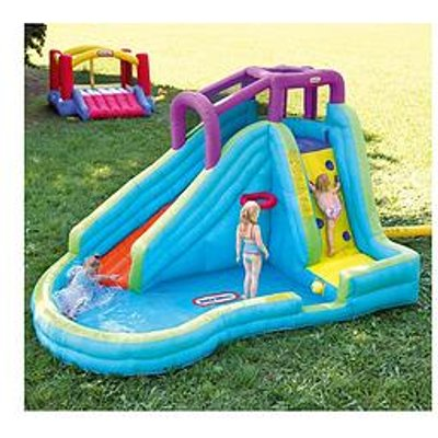 Little Tikes Slam &Lsquo;N Curve Inflatable Water Slide