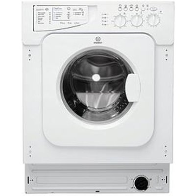 Indesit Ecotime Iwme147 7Kg Load, 1400 Spin, Integrated Washing Machine  - Washing Machine With Installation