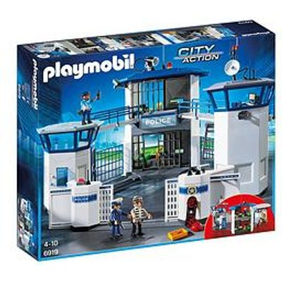 Playmobil Playmobil 6919 City Action Police Headquarters With Prison