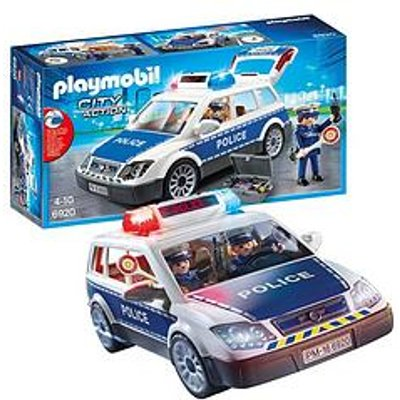 Playmobil Playmobil 6920 City Action Police Squad Car With Lights And Sound
