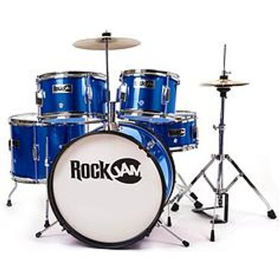 Rockjam Rj105 5-Piece Junior Drum Set