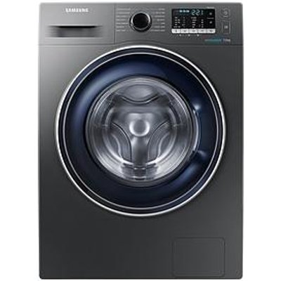 Samsung Ww70J5355Fx/Eu 7Kg Load, 1200 Spin Washing Machine With Ecobubble&Trade; Technology - Graphite