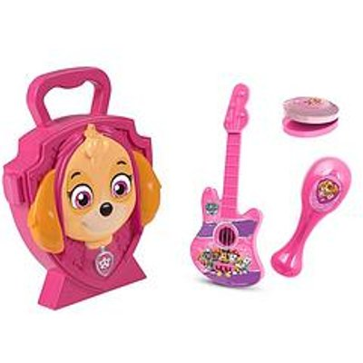 Paw Patrol Skye Carry Case With Musical Instruments