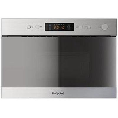 Hotpoint Class 3 Mn314Ixh 60Cm Built-In Microwave With Grill - Stainless Steel - Microwave Only