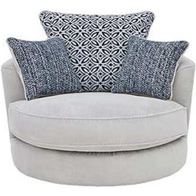 Bloom Fabric Swivel Chair