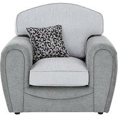 Mosaic Fabric Armchair