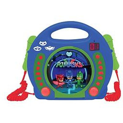 Pj Masks Cd Player With Microphones
