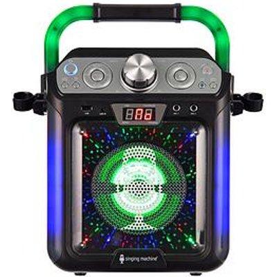 The Singing Machine Singing Machine Sml682Btbk Bluetooth Cdg + Tablet Karaoke Machine