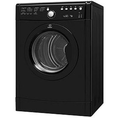Indesit Ecotime Idvl75Brk.9 7Kg Vented Sensor Tumble Dryer - Black