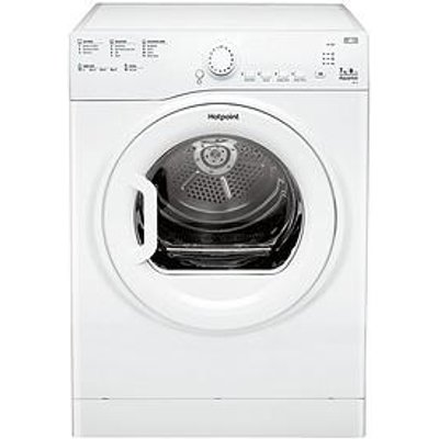 Hotpoint Aquaruis Tvfs73Bgp.9 7Kg Vented Sensor Tumble Dryer - White