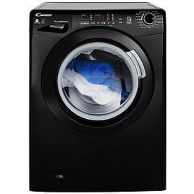 Candy Gvsw485Dcb 8Kg Wash, 5Kg Dry, 1400 Spin Washer Dryer With Smart Touch - Black