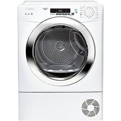 Candy Grand O Vita Gvsc10Dcg 10Kg Load Condenser Sensor Tumble Dryer With Smart Touch - White/Chrome