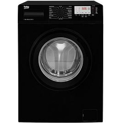 Beko Wtg741M1B 7Kg Load, 1400 Spin Washing Machine - Black