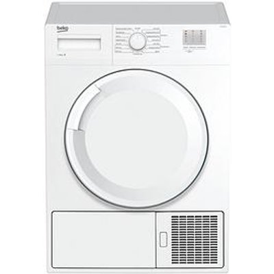 Beko Dtgc8000W 8Kg Load Full Size Condenser Sensor Tumble Dryer - White